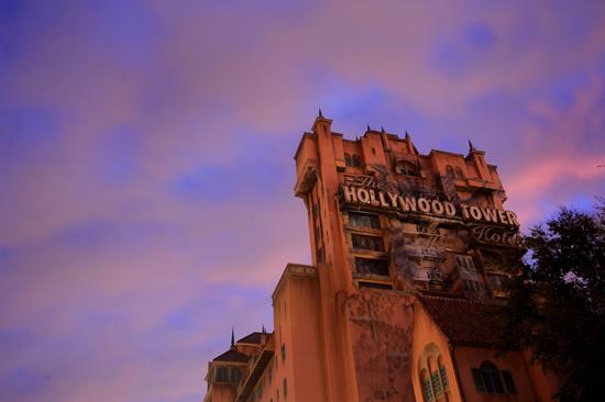 ディズニー・ハリウッド・スタジオ タワーオブテラー