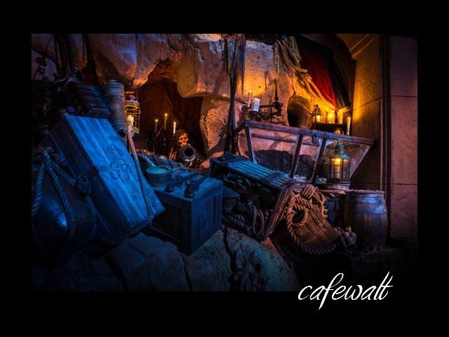 カリブの海賊 キャプテン・ジャック・スパロウの伝説 シーン (WDW)