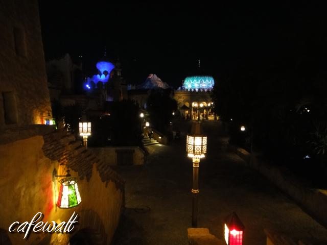 TDS アラビアンコースト 夜景