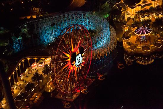 ディズニー・カリフォルニア・アドベンチャー 風景
