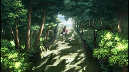 冒頭の階段