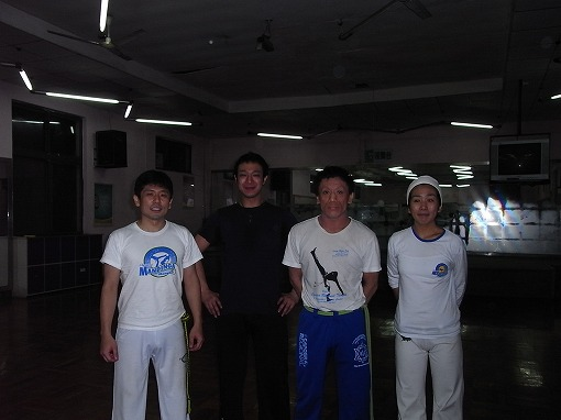 2009年2月の写真 当時のMandinga日本人メンバーと