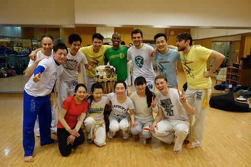 Capoeira Brasil Shanghai のみなさんと