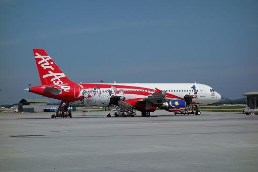 エアアジアで飛ぶ