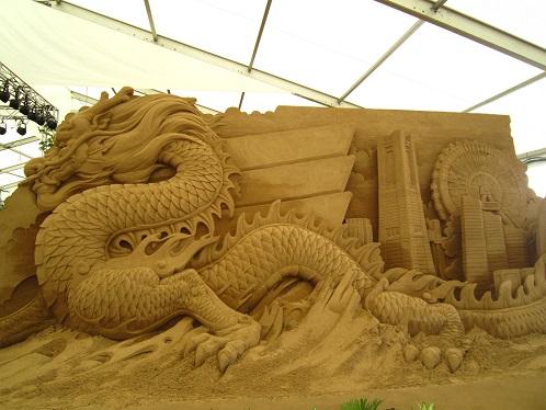 砂の彫刻展2