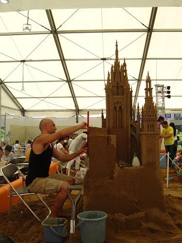 砂の彫刻展3