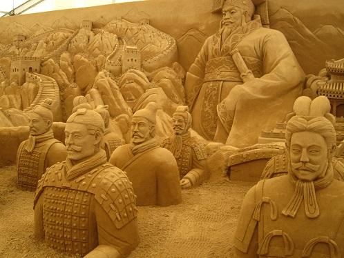 砂の彫刻展5