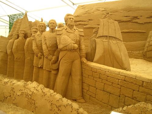 砂の彫刻展6