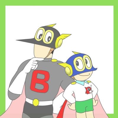 パーマン1号とバードマン