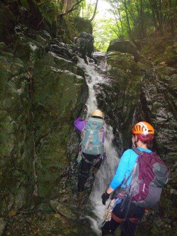 12どの滝も快適に登れる