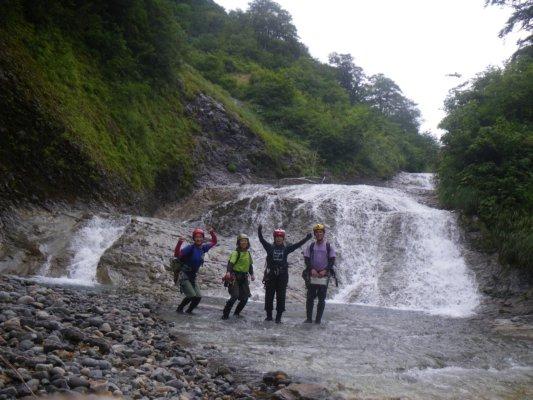 19 ナメ滝