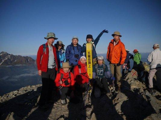 81 五竜岳山頂-1