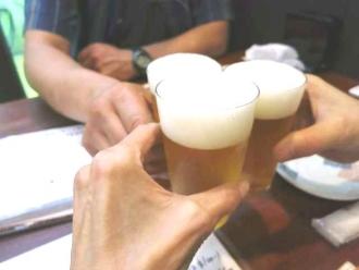 14-8-27 乾杯ビア