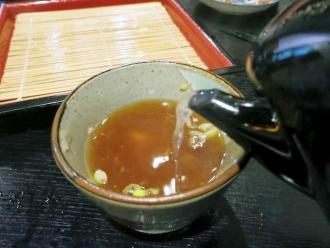 14-8-30 蕎麦湯