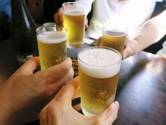 14-10-11 乾杯ビア