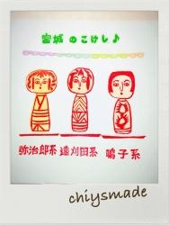 こけし3種-印影