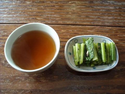 郷土食堂・お茶