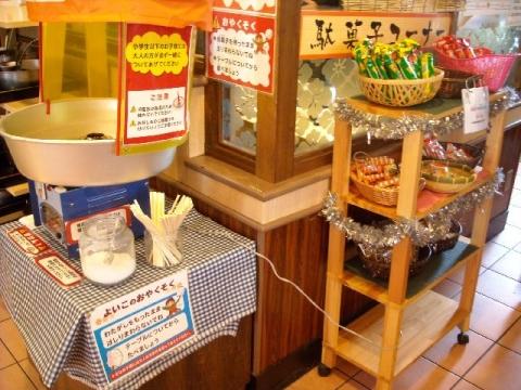 しゃぶ葉・駄菓子コーナー