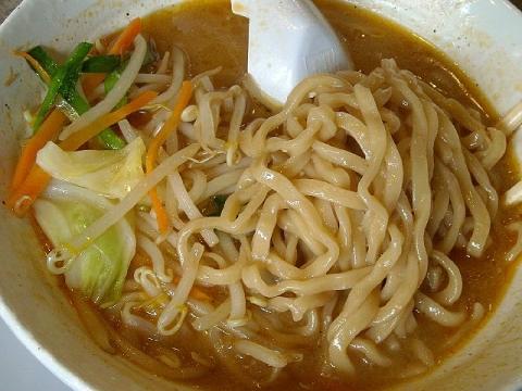 鯉次・H26・4 味噌ら~めん 麺.JPG