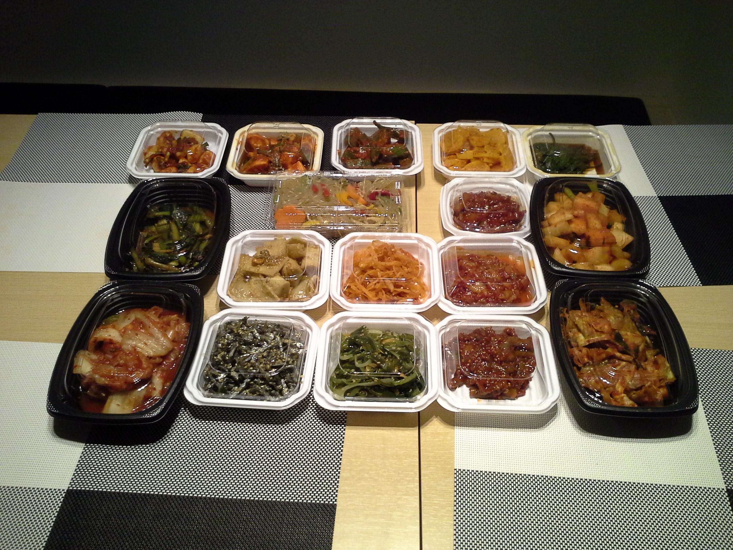 料理 持ち帰り 韓国