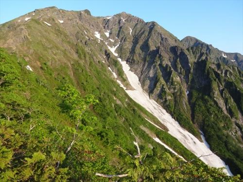 西黒尾根から谷川岳