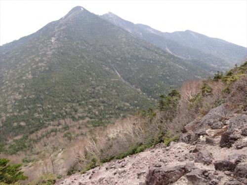 小真名子山から帝釈山・女峰山