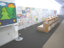 chuwaの庭-復興祭ライブペイント図書館2