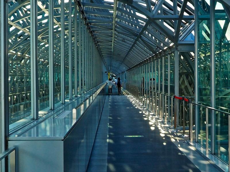 京都駅空中回廊1