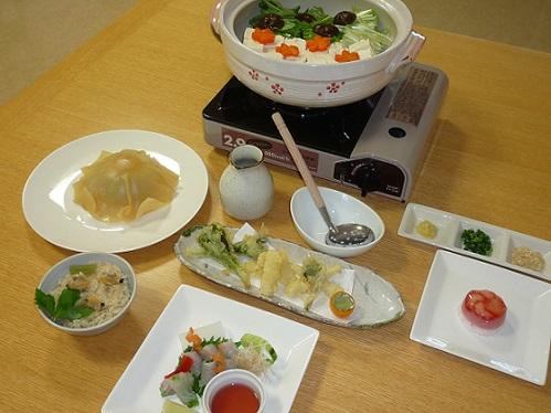 H26.4.18食事会「湯豆腐」②