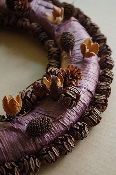 スパイス&木の実のリース