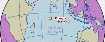 ディエゴガルシア島