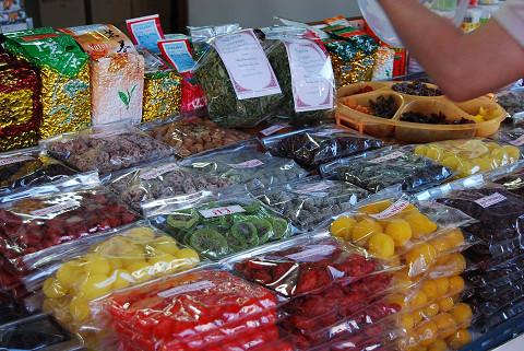 干し果物のお店