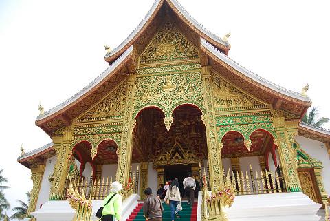 お寺の正面