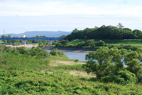 矢作川の風景