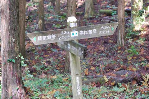 筈ヶ岳への山登り