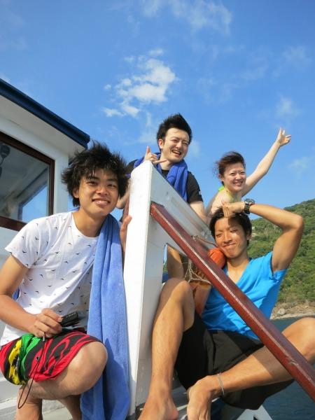 タオ島 ダイビング 集合
