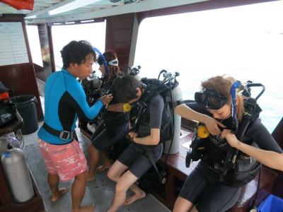 タオ島 ダイビングライセンス 卒業旅行