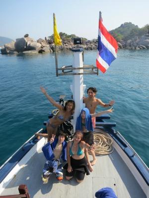 タオ島 ダイビングライセンス 卒業旅行 OW