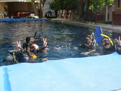 タオ島 卒業旅行 ダイビングライセンス
