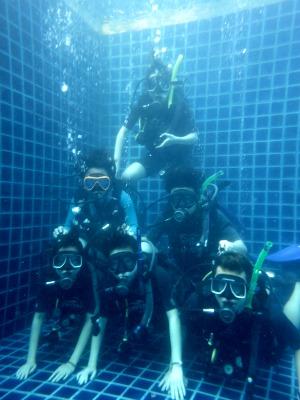 タオ島 ダイビング 限定水域