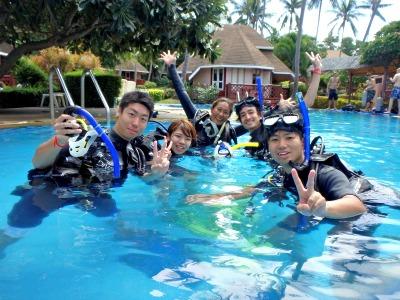 タオ島 オープンウォータダイバー 講習