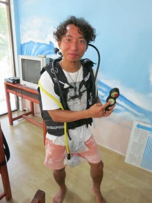 タオ島 ダイビング 器材