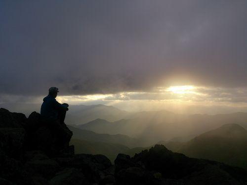 旭日岳 山頂 2