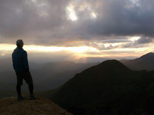 旭日岳 山頂 3