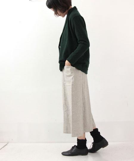 evameva / エヴァムエヴァ cotton yak skirt