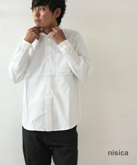 nisica / ニシカ スモールカラーシャツ OX