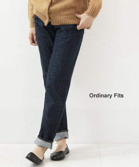 Ordinary Fits / オーディナリーフィッツ 5POCKET ROLL UP DENIM
