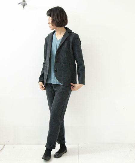 yohaku / ヨハク two tone pants