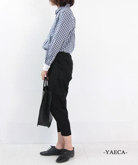 YAECA / ヤエカ tuck pants