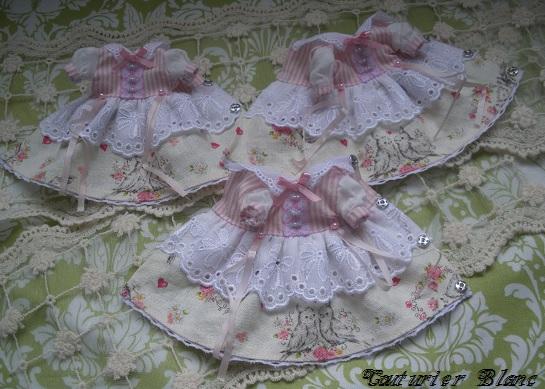 ミディブライスドレス・ラブリーオウム・3